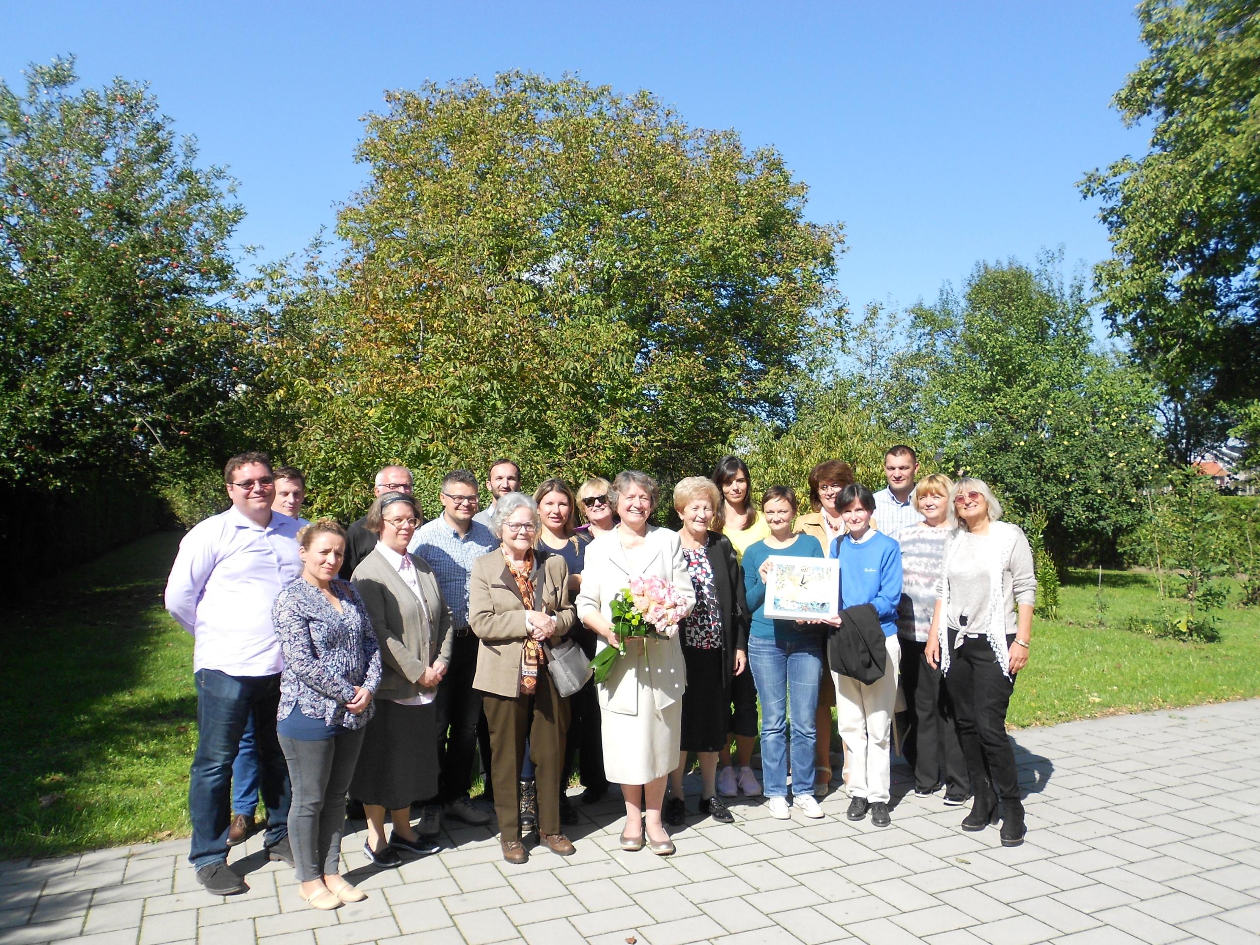 Djelatnici Staroslavenskog instituta svečano su se oprostili 18. rujna 2017. godine od ravnateljice dr. sc. Marice Čunčić.