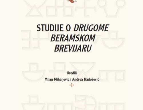 Objavljena knjiga »Studije o Drugome beramskom brevijaru«